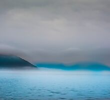 Foggy day in the San Juan Islands of Washington State by Doug Graybeal