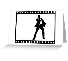 James Bond Film Cell Greeting Card