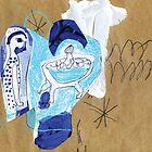 my blue friend by Shylie Edwards
