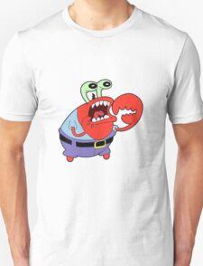 Choking Mr. Krabs T-Shirt