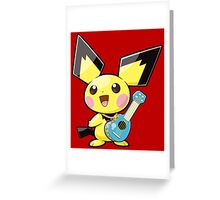 Pichu Greeting Card