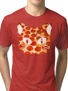 Pizza Cat Tri-blend T-Shirt