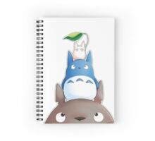 cute totoro  Spiral Notebook