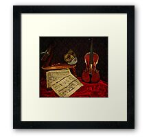 A musical night Framed Print