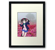 Nico Nico Ni~~! Framed Print