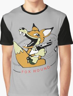 MGS - 90's Foxhound insignia Graphic T-Shirt
