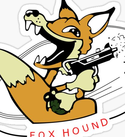 MGS - 90's Foxhound insignia Sticker