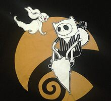 adventure time with jack skellington nightmare before christmas by sugarnice