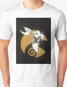 adventure time with jack skellington nightmare before christmas T-Shirt