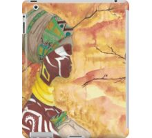 ebony queen iPad Case/Skin