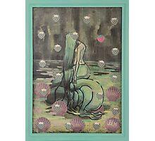Unhappy Mermaid Photographic Print