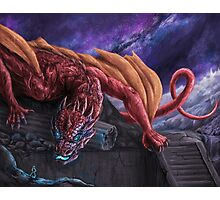 Red Wyvern Photographic Print