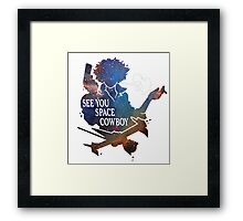See You Space Cowbow - Spike Framed Print
