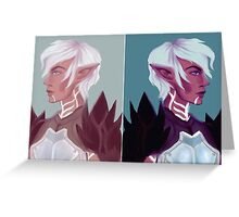 Fenris Greeting Card