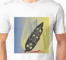 Abstract Feathers Unisex T-Shirt