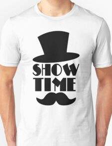 Show Time The Magic Funny Men's Hoodie T-Shirt