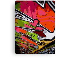Graffiti Vector Design  Canvas Print