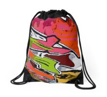 Graffiti Vector Design  Drawstring Bag
