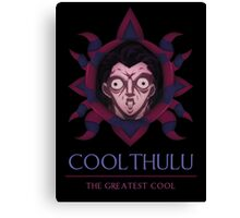 Coolthulu - The Greatest Cool Canvas Print