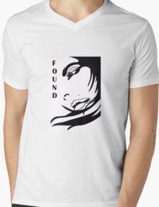 FOUND Mens V-Neck T-Shirt