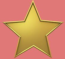 Golden Star by trendism