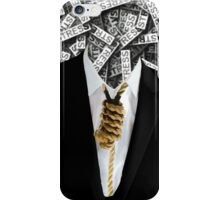 Free Yourself Tuxedo With Rope On Neck iPhone Case/Skin