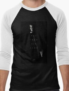 Bourne - You Know His Name Movie Poster Men's Baseball ¾ T-Shirt