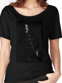 Bourne - You Know His Name Movie Poster Women's Relaxed Fit T-Shirt