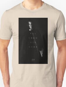 Bourne - You Know His Name Movie Poster Unisex T-Shirt
