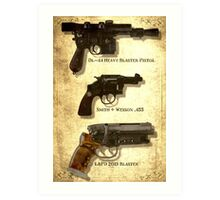 Ford's Guns Art Print