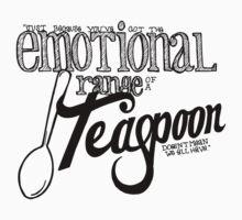 Emotional Range of a Teaspoon Baby Tee