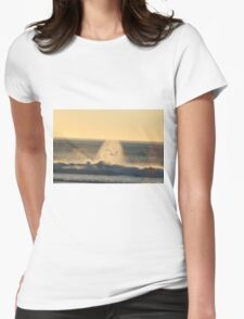 Droplets Womens Fitted T-Shirt
