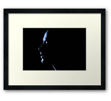 Perfection in profile Framed Print