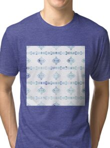 Ethnic Trendy Pattern in Watercolor Tri-blend T-Shirt