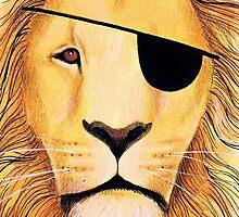 Pirate lion by Vicky Pratt