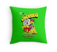 Kiwi Confectionery - Chickadees  Throw Pillow