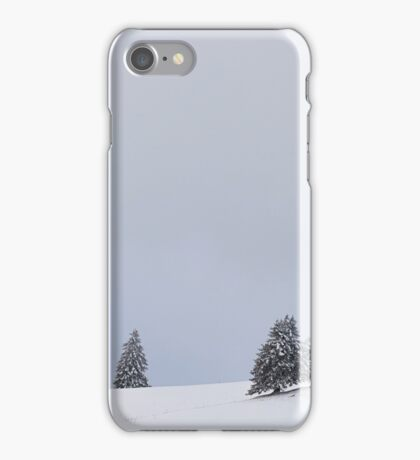 Duo in the Cold iPhone Case/Skin