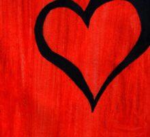 Heart Mystery Sticker