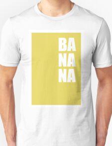 BANANA - minimal typography retro design T-Shirt