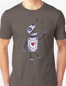 Happy Singing Robot T-Shirt
