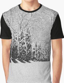 Snow Storm Graphic T-Shirt