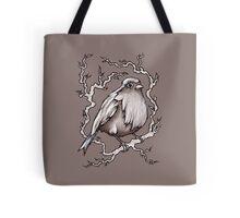 Sitting Pretty Bird Tote Bag