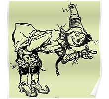 Scarecrow from Oz Poster