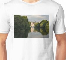 St James's Park Lake Reflections, London UK - Green, Gray and Beautiful Unisex T-Shirt