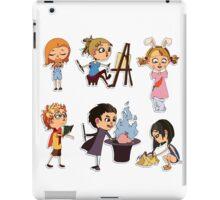Vector children set iPad Case/Skin