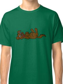 Brown Dog - Roll Over Classic T-Shirt