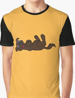 Chocolate Dog - Roll Over Graphic T-Shirt