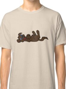 Chocolate Dog - Roll Over Classic T-Shirt