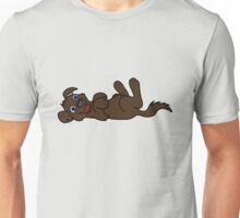 Chocolate Dog - Roll Over Unisex T-Shirt