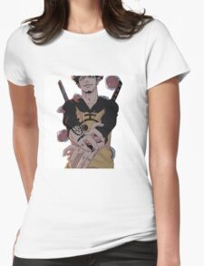 Trafalgar D. Law King of  Hearts Womens Fitted T-Shirt